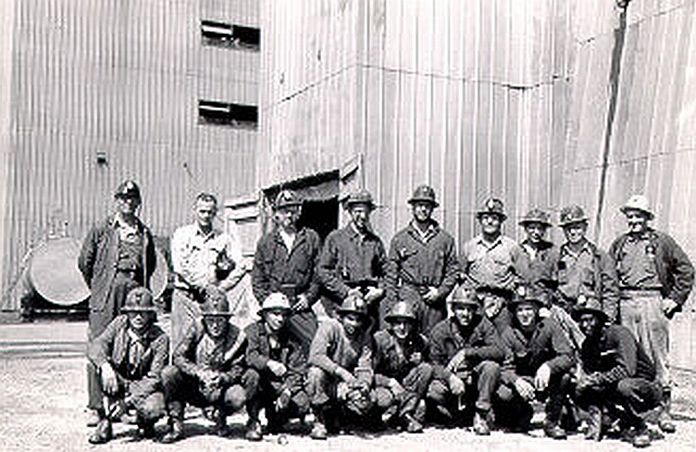 Members of 1960 Mining Class