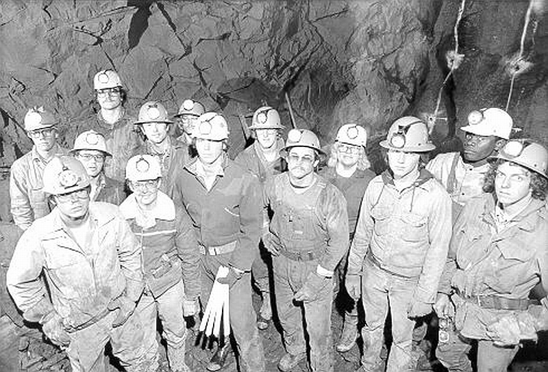 Members of 1979 Mining Class
