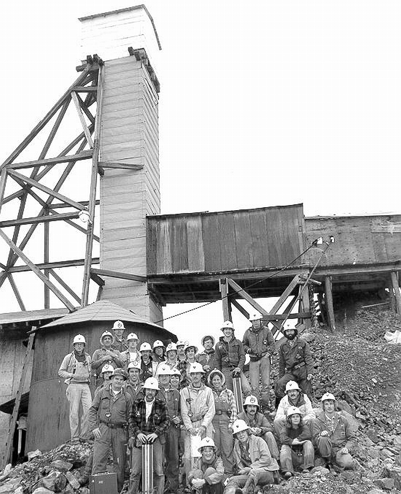 Members of 1980 Mining Class