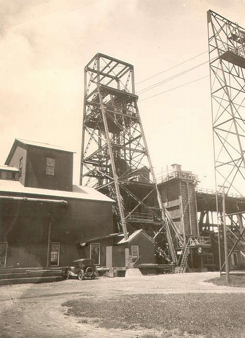 Ludington Mine, Iron Mountain, MI