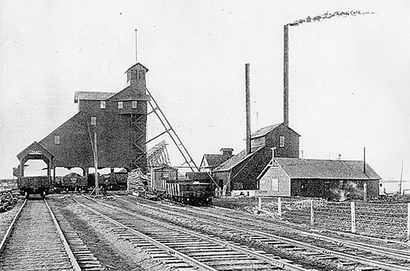Pere  Marquette Mine, Saginaw, MI
