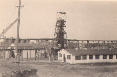 Upper Peninsula Shaft and  Mine buildings