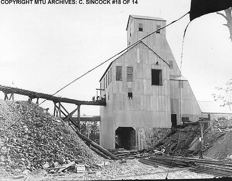 Copper Mines Mining History Mine Shafts Of Michigan